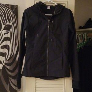 Navy blue activewear coat